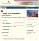Thumbnail image for A Guide to Voting in the Canadian Federal Election