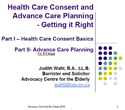 Thumbnail image for Health Care Consent