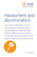 Thumbnail image for Harassment and discrimination