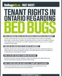 Thumbnail image for Tenant Rights in Ontario Regarding Bed Bugs