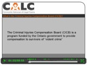 Thumbnail image for Criminal Injuries Compensation Board