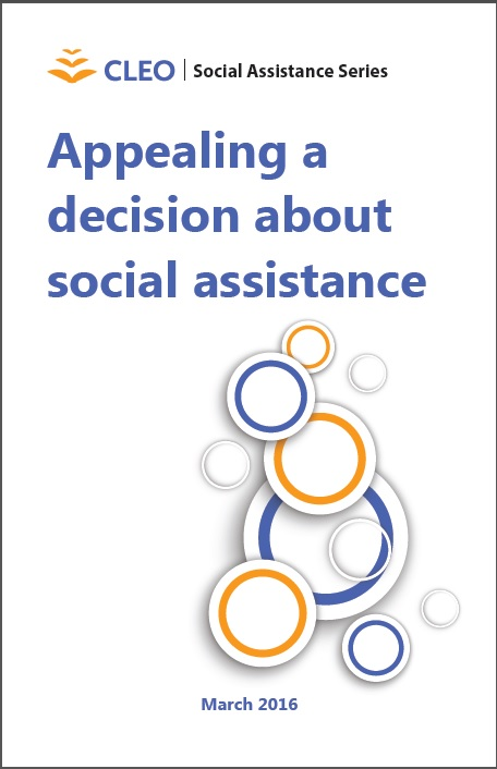Appealing a decision about social assistance thumbnail