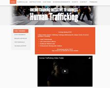 Online Training Initiative to Address Human Trafficking