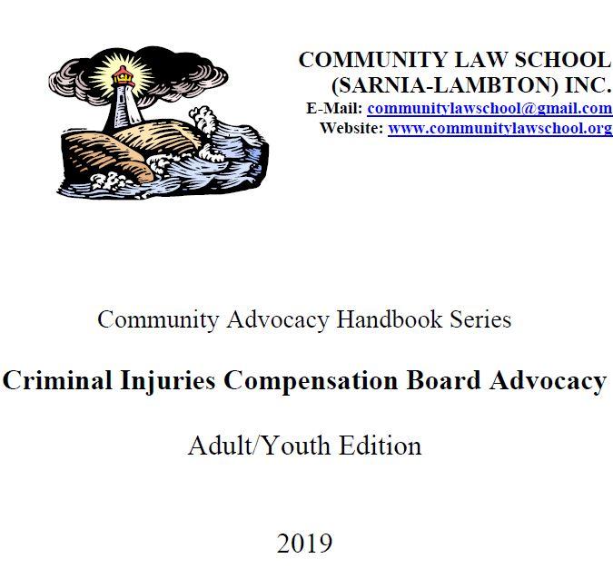 Criminal Injuries Compensation Advocacy