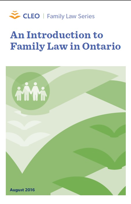Thumbnail image for An Introduction to Family Law in Ontario