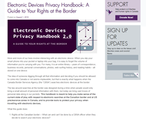 Electronic Devices Privacy Handbook