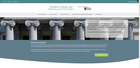 The Family Law Limited Scope Services Project