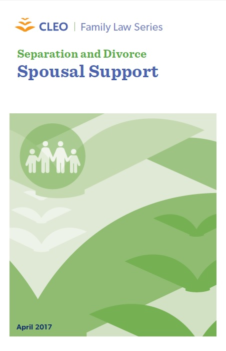 Thumbnail image for Separation and Divorce: Spousal Support