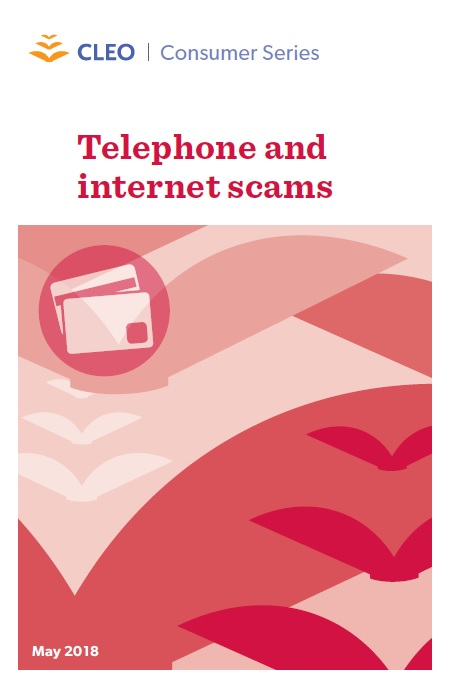 Thumbnail image for Telephone and internet scams