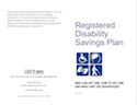 Registered Disability Savings Plan: Who can get one thumbnail