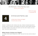 Thumbnail image for Criminal and Family Law