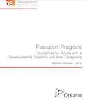 Passport Program Guidelines for Adults with a Developmental Disability thumbnail