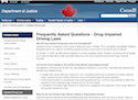 Frequently Asked Questions - Drug-Impaired Driving Laws thumbnail