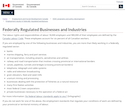 Federally Regulated Businesses and Industries thumbnail