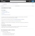 Lie Detector Tests thumbnail