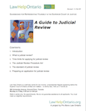 Thumbnail image for A Guide to Judicial Review