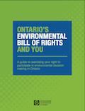 Thumbnail image for Ontario's Environmental Bill of Rights and You