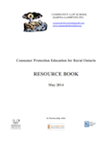 Resource Book: Consumer Protection Education for Rural Ontario thumbnail