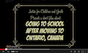 Going to school after moving to Ontario, Canada thumbnail