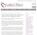 Can a woman's family court case have an impact? thumbnail