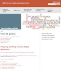 Preparing and filing a Human Rights Application thumbnail