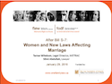 After Bill S-7: Women and New Laws Affecting Marriage thumbnail