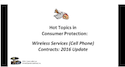 Wireless Services (Cell Phone) Contracts - 2016 Update thumbnail