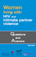 Women living with HIV and intimate partner violence thumbnail