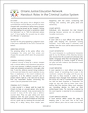 In Brief: Roles in the Criminal Justice System thumbnail