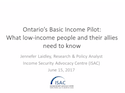 Basic Income in Ontario webinar thumbnail