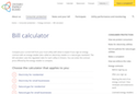 Energy contracts: Bill calculator thumbnail