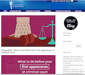 Infographic: What to do before your first appearance at criminal court thumbnail