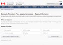 Canada Pension Plan appeal process - Appeal Division thumbnail