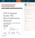 CPP-D Appeal Guide | The Reconsideration Request thumbnail
