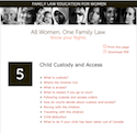 Thumbnail image for Child Custody and Access