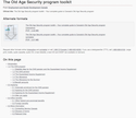 The Old Age Security program toolkit thumbnail