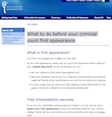 What to do before your criminal court first appearance thumbnail