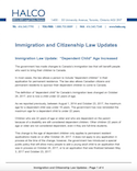 Immigration and Citizenship Law Update thumbnail