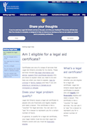 Am I eligible for a legal aid certificate? thumbnail