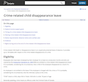 Crime-related child disappearance leave thumbnail