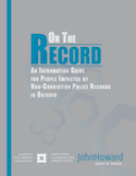 Information Guide for People Impacted by Non-Conviction Police Records thumbnail
