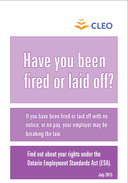 Thumbnail image for Have you been fired or laid off?