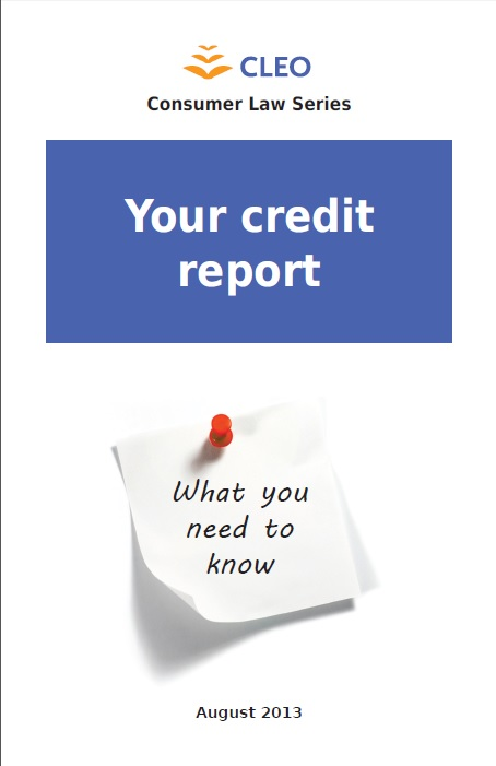Thumbnail image for Your credit report