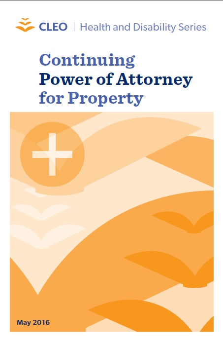 Continuing Power Of Attorney For Property Your Legal Rights