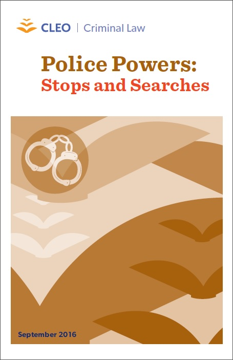 Thumbnail image for Police Powers: Stops and Searches