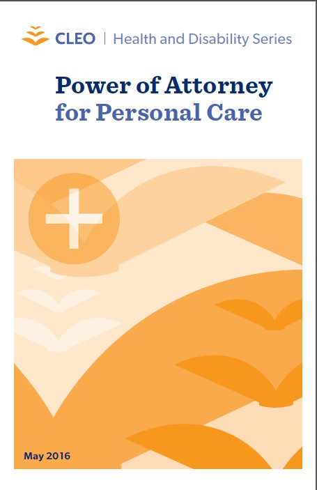Thumbnail image for Power of Attorney for Personal Care