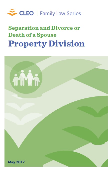 Thumbnail image for Separation and Divorce or Death of a Spouse: Property Divisi