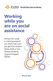 Thumbnail image for Working while you are on social assistance